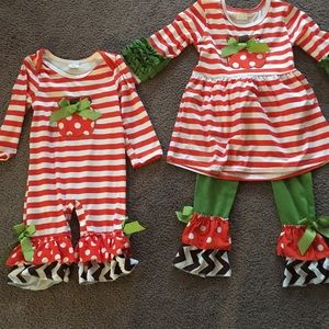 Other - Matching pumpkin outfits
